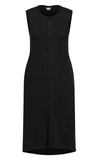 Simple Love Dress - black