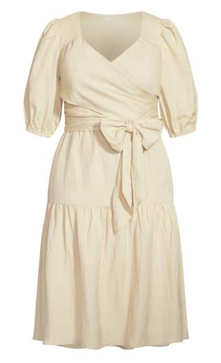 Sweet Sleeve Dress - stone