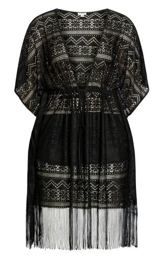 Mauritius Kaftan - black