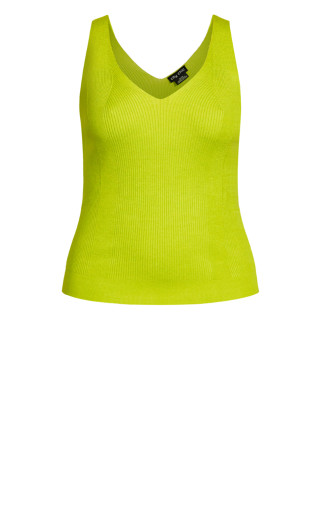 Shock Factor Cami - acid green