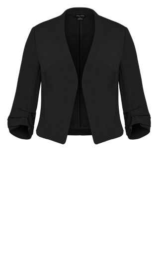 Wistful Dreams Jacket - black