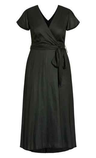Sashay Dress - khaki