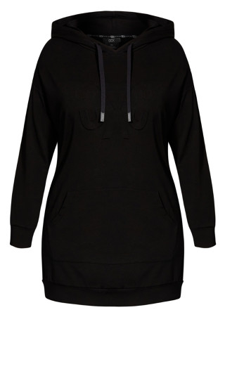 Fire Up Hoodie - black