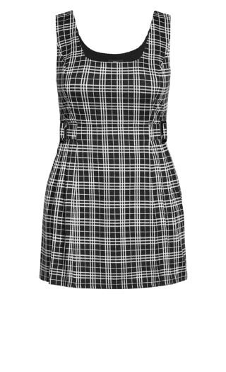 Check In Pini Dress - black