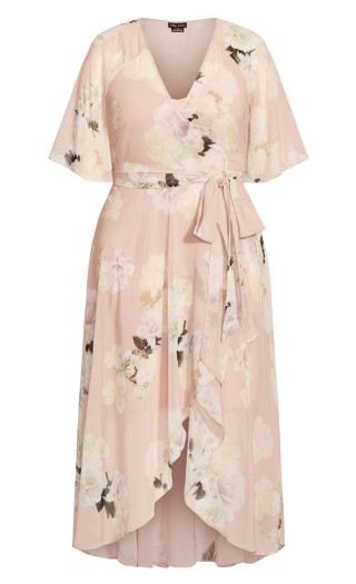 Ethereal Bloom Maxi Dress - ethereal bloom