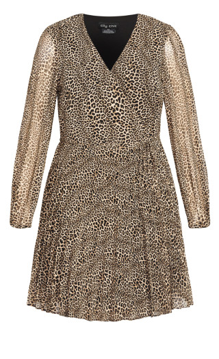 Luxe Leopard Dress - leopard