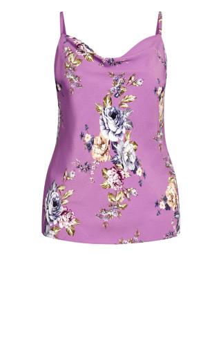 Rose Garden Cami - lilac