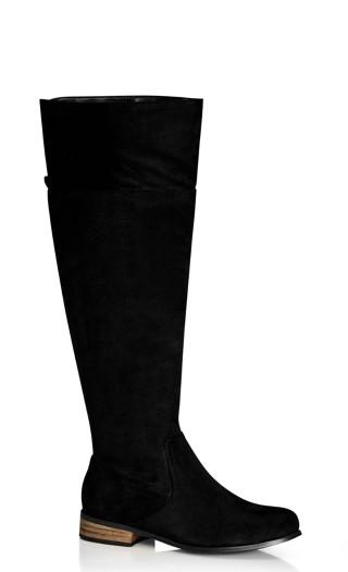 Harlie Knee Boot - black