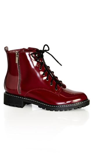 Zaneta Boot - burgundy