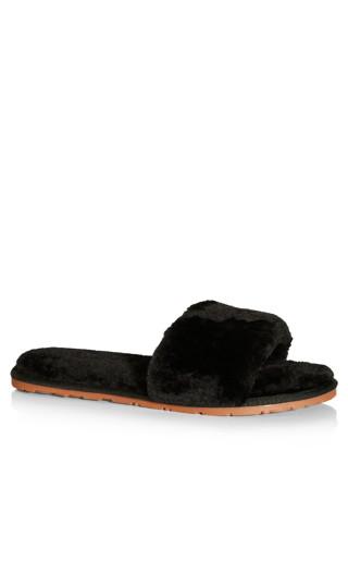 Luxe Slipper - black
