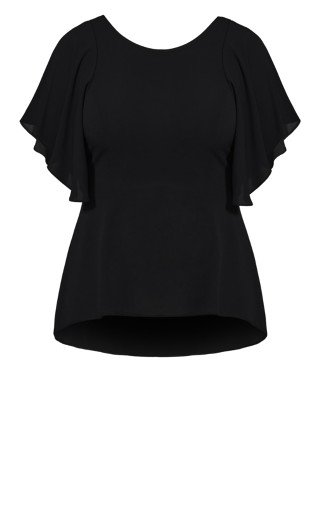 Romantic Mood Top - black