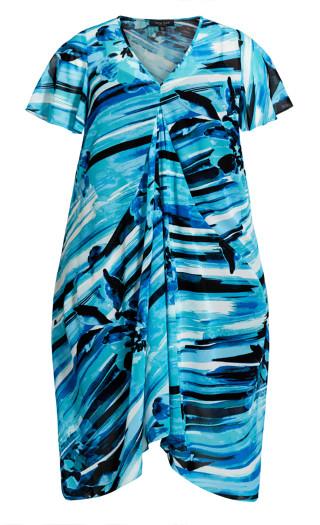 Marina Dress - turquoise