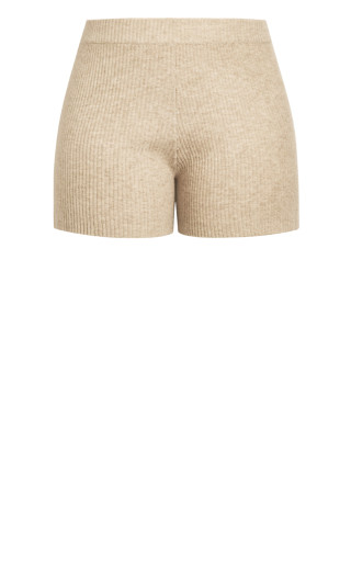 Luxe Knit Short - caramel
