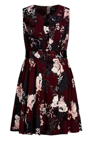 Enchanted Dress - ruby