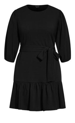 Love Me Knot Dress - black