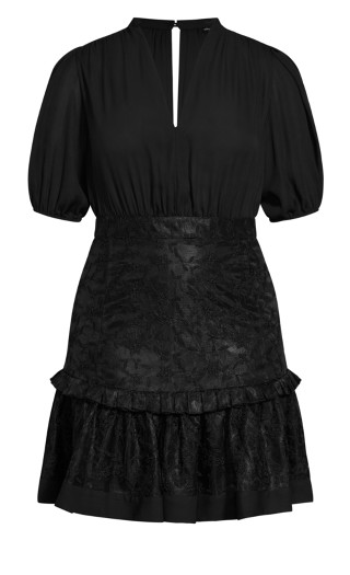 Harmony Dress - black