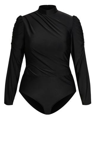 Enigma Bodysuit - black