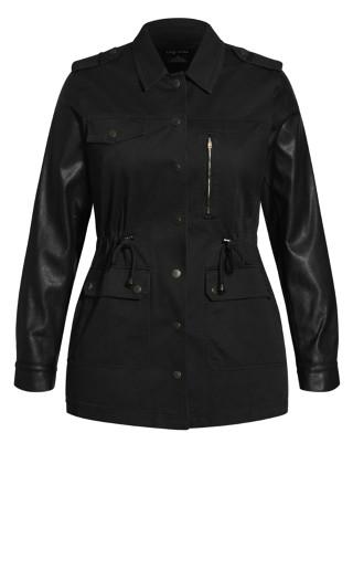 Utility Cool Jacket - black