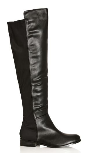 Calista Knee Boot - black