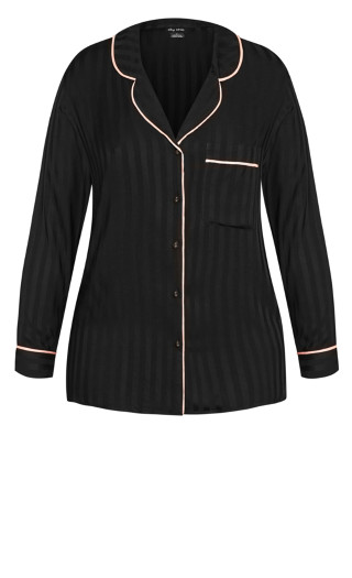 Mia Sleep Shirt - black