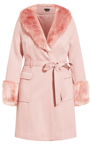 Make Me Blush Coat - blush