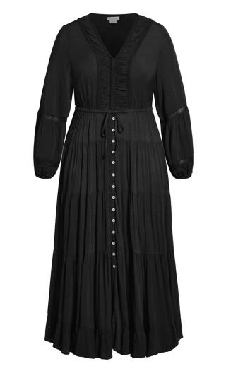 Angel Maxi Dress - black