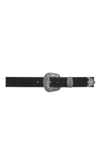 Western Detail Belt - black
