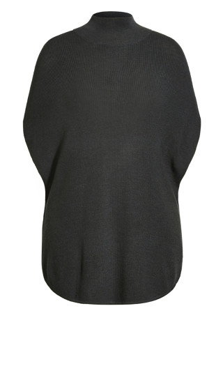 Sound Check Jumper - charcoal marle