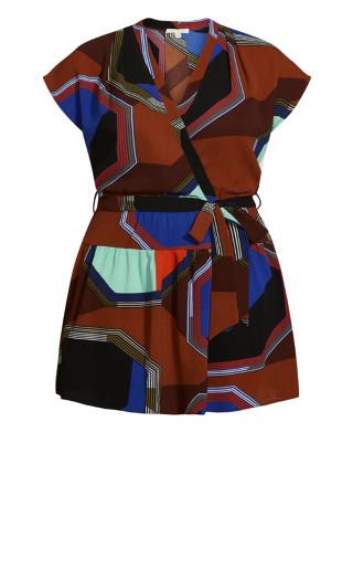 Havana Mini Dress - brown