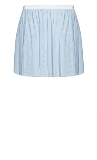 Sweet Tulle Skirt - baby blue