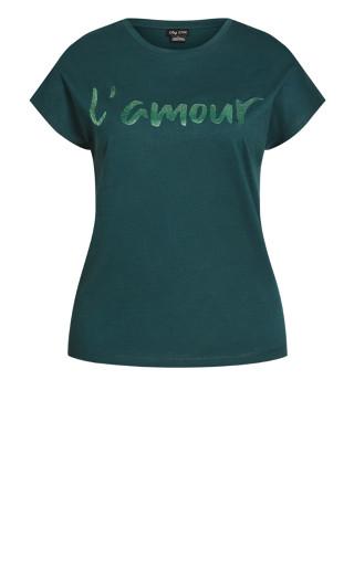 Lamour Top - emerald