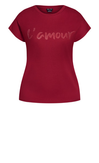 Lamour Top - ruby