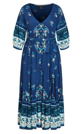 Angel Spirit Maxi Dress - sapphire