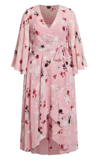 Fly Away Maxi Dress - ice pink