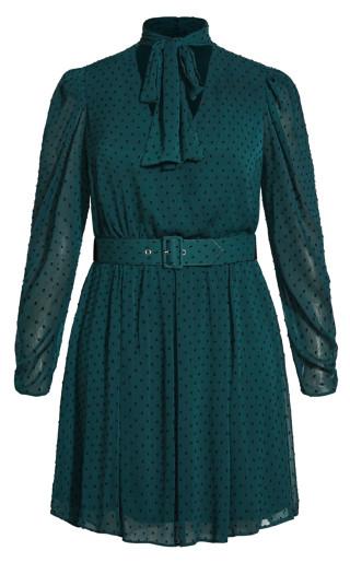 Adore Me Dress - emerald