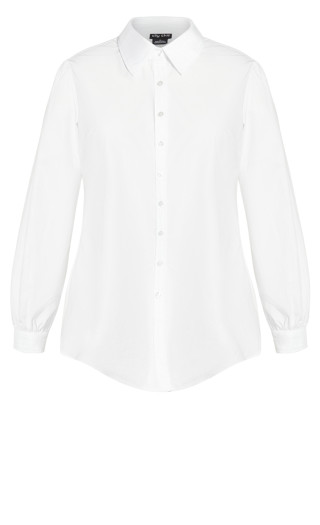 Clean Look Shirt - ivory
