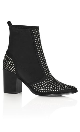 Rock Stud Boot - black