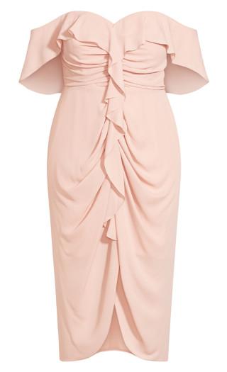 Va Va Voom Dress - ballet pink