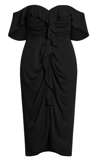 Va Va Voom Dress - black