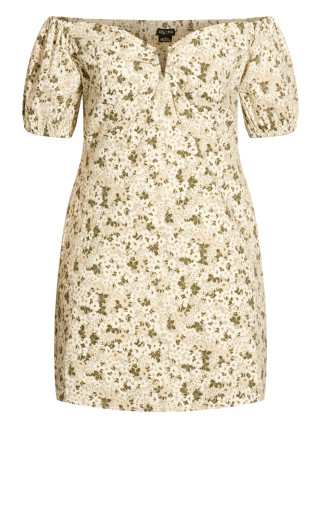 Spring Fields Dress - neutral