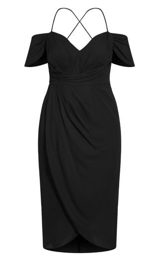 Entwine Maxi Dress - black