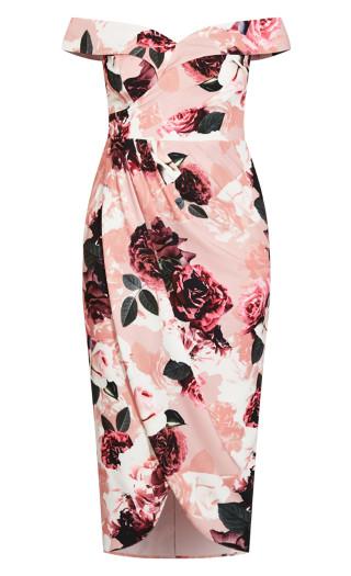 Lost In Love Maxi Dress - rose