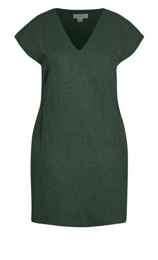 Sublime Dress - deep green