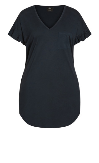 About Lounge Dress - navy