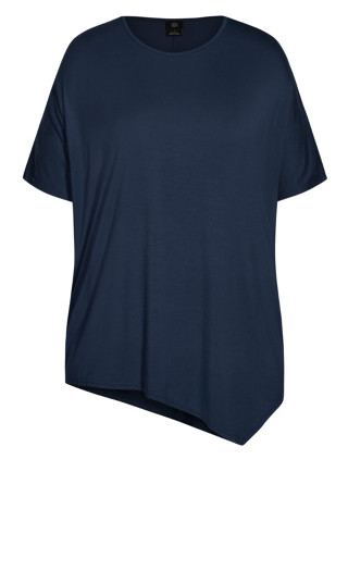 Batwing 3/4 Top - french navy