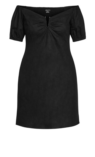 Sweet Paradise Dress - black