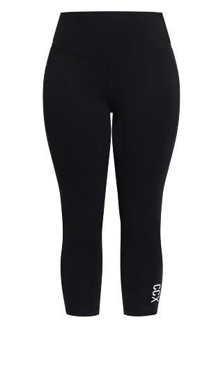 Active 7/8 Legging - black