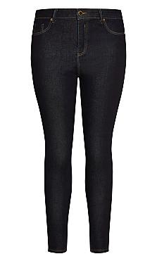 Asha Chic Skinny Jean - indigo