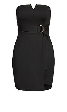 Night Fall Dress - black