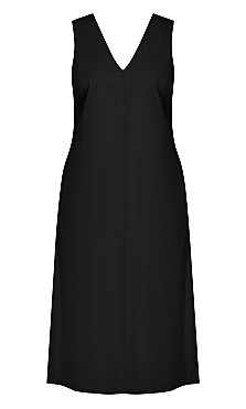 Eclectic Dress - black